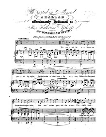 Ballad : Complete Score by Stith, Townshend