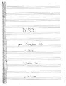 Bird pour saxophone (Btrd pour saxophone... by Torre, Salvador