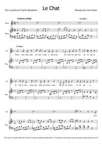 Le Chat : Complete Score by Sauter, Louis