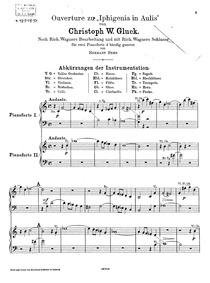 Iphigénie en Aulide (Tragédie opéra en t... Volume Wq.40 by Gluck, Christoph Willibald