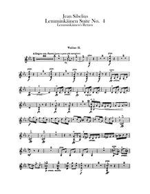 Lemminkäinen's Return (Lemminkäinen pala... Volume Op.22/4 by Sibelius, Jean