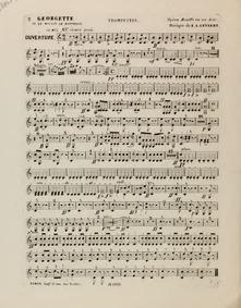 Georgette, ou Le moulin de Fontenoy (Opé... by Gevaert, François-Auguste