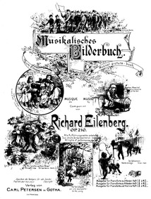 Musikalisches Bilderbuch (Musical Pictur... Volume Op.210 by Eilenberg, Richard