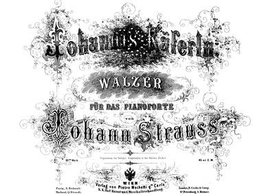 Johannis-Käferln Walzer, Op.82 : Complet... Volume Op.82 by Strauss Jr., Johann