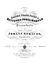 Rettungs-Jubel-Marsch (Kaiser Franz Jose... Volume Op.126 by Strauss Jr., Johann