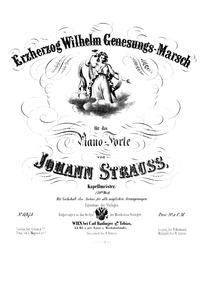 Erzherzog Wilhelm Genesungs-Marsch, Op.1... Volume Op.149 by Strauss Jr., Johann