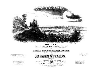 Abschieds-Rufe Walzer, Op.179 : Complete... Volume Op.179 by Strauss Jr., Johann