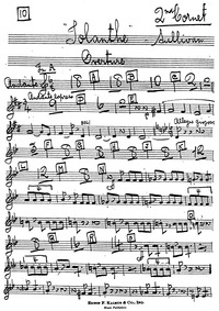 Iolanthe (The Peer and the Peri) : Corne... by Sullivan, Arthur