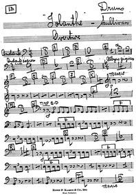 Iolanthe (The Peer and the Peri) : Percu... by Sullivan, Arthur