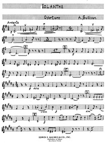 Iolanthe (The Peer and the Peri) : Violi... by Sullivan, Arthur