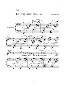 Le temps d'un rêve : Complete Score by Tosti, Francesco Paolo