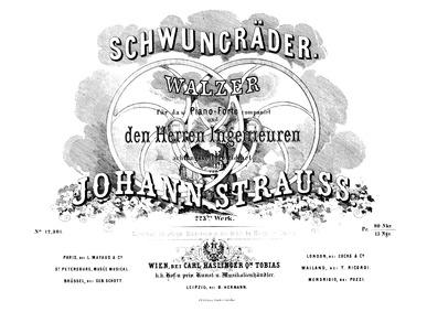 Schwungräder Walzer, Op.223 : Complete S... Volume Op.223 by Strauss Jr., Johann