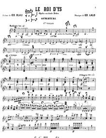 Le roi d'Ys (Légende Bretonne) : Violins... by Lalo, Édouard