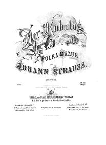 Der Kobold, Op.226 (Polka-Mazur) : Compl... Volume Op.226 by Strauss Jr., Johann