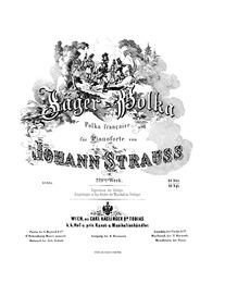 Jäger-Polka, Op.229 : Complete Score (sc... Volume Op.229 by Strauss Jr., Johann