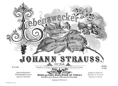 Lebenswecker Walzer, Op.232 : Complete S... Volume Op.232 by Strauss Jr., Johann