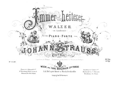 Immer heiterer Walzer, Op.235 : Complete... Volume Op.235 by Strauss Jr., Johann
