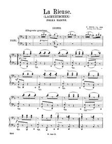 La Rieuse, Op.303 : Complete score Volume Op.303 by Behr, Franz