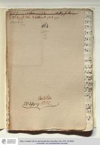 Selig ist der das Brot isst, GWV 1143/51... Volume GWV 1143/51 by Graupner, Christoph