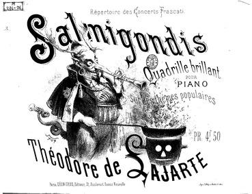Salmigondis (Quadrille brillant pour pia... by Lajarte, Théodore de