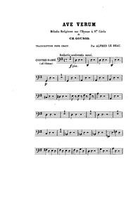 Hymne à Sainte Cécile: Méditation Religi... by Gounod, Charles