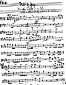 Trial by Jury : Violas by Sullivan, Arthur