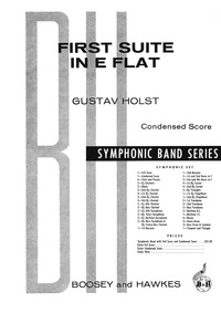 First Suite for Military Band, Op.28 No.... Volume H.105 ; Op.28 No.1 by Holst, Gustav