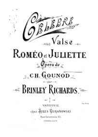 Roméo et Juliette (Opéra en cinq actes) ... by Gounod, Charles