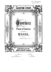 Euryanthe (Grosse heroisch-romantische O... Volume Op.81 ; J.291 by Weber, Carl Maria von