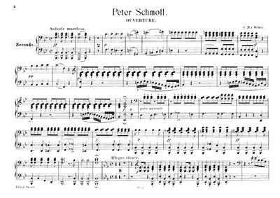 Grande ouverture (Grande ouverture à plu... Volume Op.8 ; J.54 by Weber, Carl Maria von