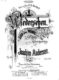 Wiedersehen, Op.46 : Complete Score and ... Volume Op.46 by Andersen, Joachim