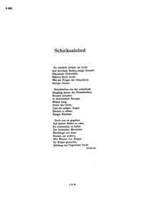 Schicksalslied (Hyperions Schicksalslied... Volume Op.54 by Brahms, Johannes