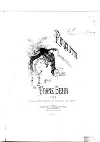 Perciotta : Complete score by Behr, Franz