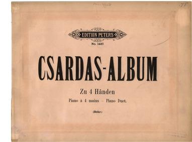 Csardas-Album (Nach ungarischen Volkslie... by Behr, Franz