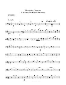 Il matrimonio segreto (Melodramma goicos... by Cimarosa, Domenico
