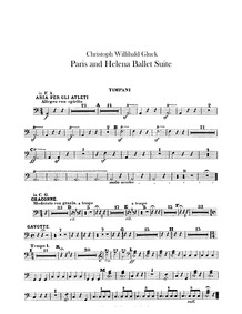 Paride ed Elena (Dramma per musica in ci... Volume Wq.39 by Gluck, Christoph Willibald