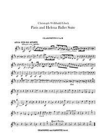 Paride ed Elena (Dramma per musica in ci... Volume Wq.39 by Gluck, Christoph Willibald