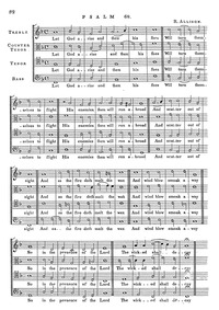 Psalms (The Whole Booke of Psalmes, with... by Allison, Richard