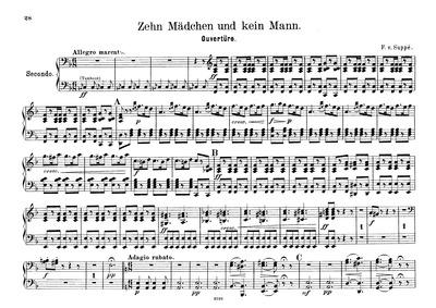 Operette in einem Akt : Complete Score by Suppé, Franz von