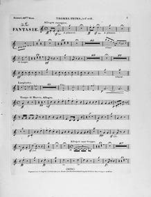 Fantasie on 'Oberons Zauberhorn' (Oberon... Volume Op.116 by Hummel, Johann Nepomuk