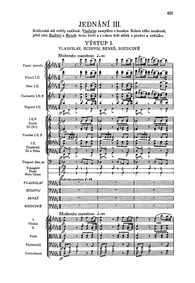Dalibor, JB 1:101 : Act III Volume JB 1:101, B.133, T.96 by Smetana, Bedřich