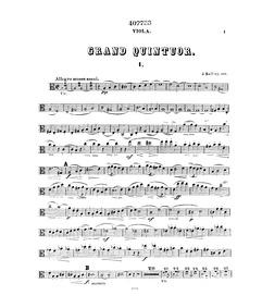 Piano Quintet, Op.107 : Viola Volume Op.107 by Raff, Joachim