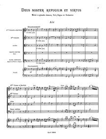 Deus noster refugium (Deus noster refugi... by Rameau, Jean-Philippe