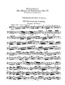 Der Bürger als Edelmann Suite (Le bourge... Volume Op.60b-IIIa ; TrV 228c by Strauss, Richard