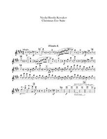 Christmas Eve (Ночь перед Рождеством) : ... by Rimsky-Korsakov, Nikolay