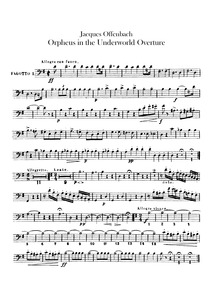 Overture to Offenbach's opera 'Orphée au... by Binder, Carl