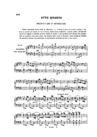 Le prophète (Grand opéra en cinq actes) ... by Meyerbeer, Giacomo