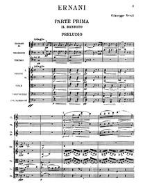 Ernani (Dramma lirico in quattro atti) :... by Verdi, Giuseppe