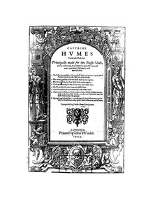 Captain Humes Poeticall Musicke : Comple... by Hume, Tobias