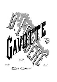 Gavotte, Op.30 : Complete piano score Volume Op.30 by Itiberê, Brasílio